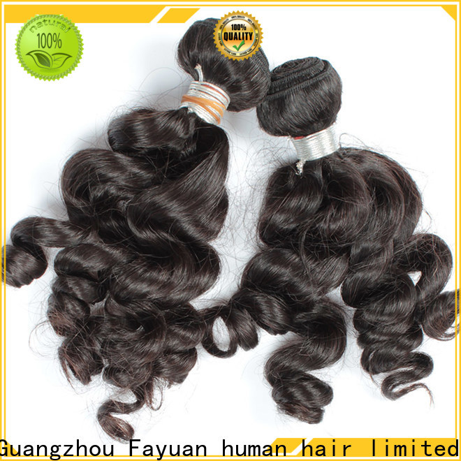 Fayuan Hair Latest indian remy hair manufacturers for barbershop