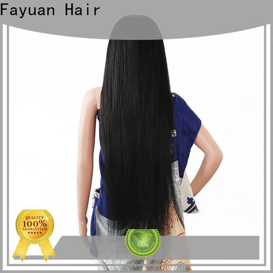 Fayuan Hair hair custom wig prices manufacturers for barbershop