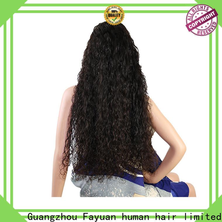Fayuan Hair High-quality custom made real hair wigs company for women