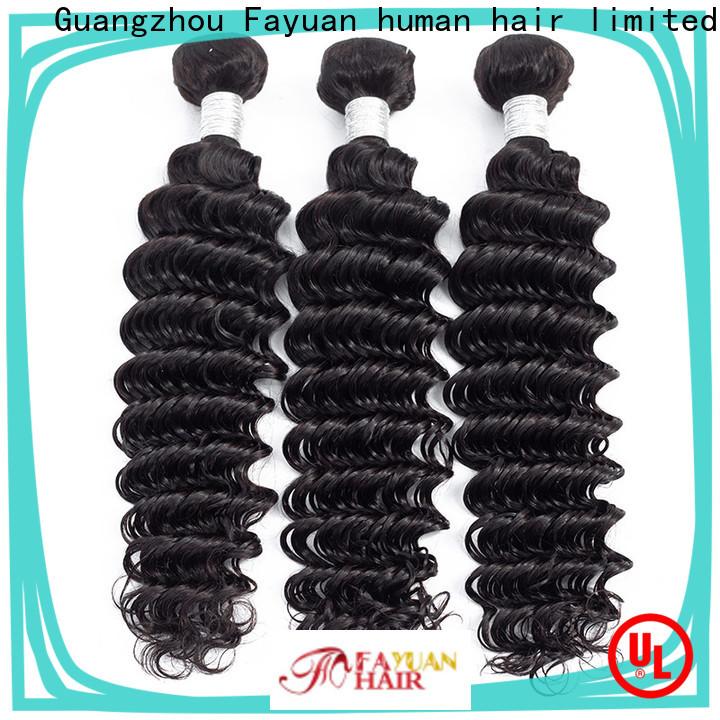 Fayuan Hair grade peruvian hair bundles for sale Suppliers for selling