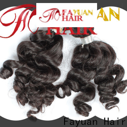 Fayuan Hair Latest indian remy hair for business for men
