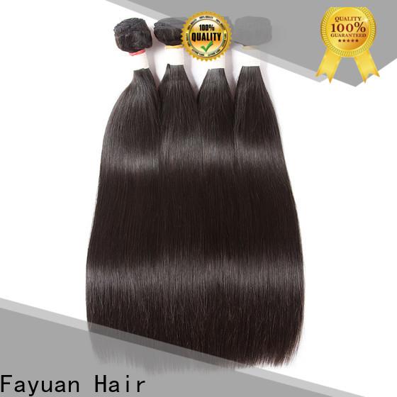 Fayuan Hair Custom brazilian hair bundles deals factory for street