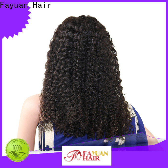 Top lace front wig styles curly Supply for men