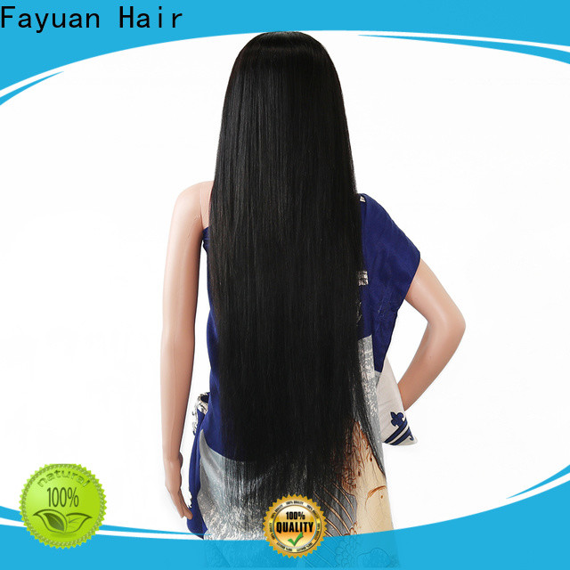 Latest custom human hair lace front wigs price factory for barbershop
