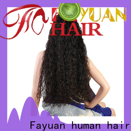 New custom color full lace wigs human manufacturers for street