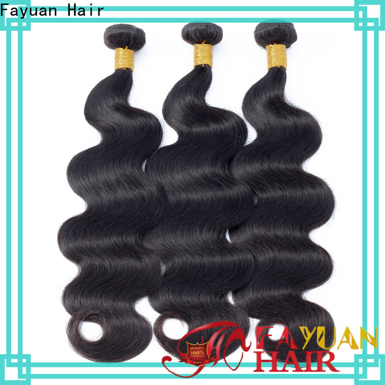 Fayuan Hair Best black hair extensions Suppliers for selling