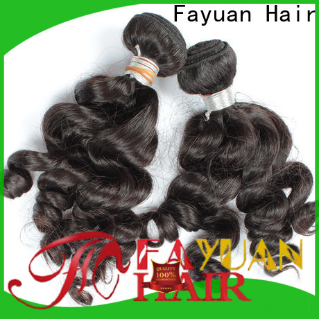 Fayuan Hair Latest raw indian hair wholesale manufacturers for women