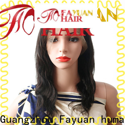 Fayuan Hair High-quality short full lace wigs for business for selling