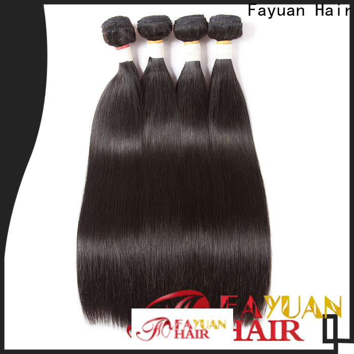 Fayuan Hair brazilian cheap hair extensions Supply for men