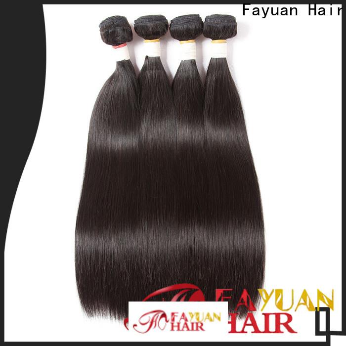 Fayuan Hair Custom brazilian hair extensions for sale Supply for men