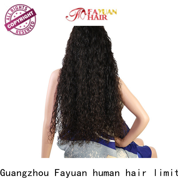 Fayuan Hair straight custom made lace frontals manufacturers for street