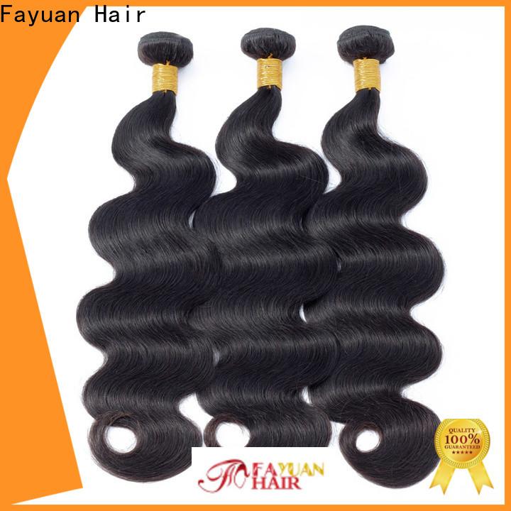 Fayuan Hair New peruvian wavy weave Supply for street