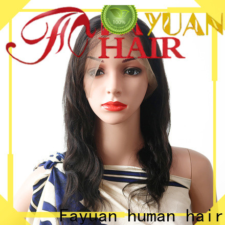 Fayuan Hair High-quality silk top lace wig manufacturers for barbershop