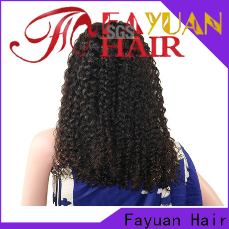Fayuan Hair New cheap human hair lace front wigs Suppliers for men