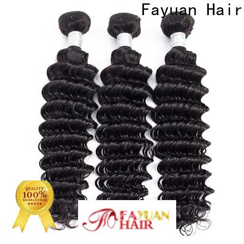 Fayuan Hair peruvian peruvian curly bundles Supply for selling