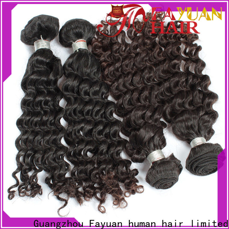 Wholesale malaysian hair weave bundles hair manufacturers for street
