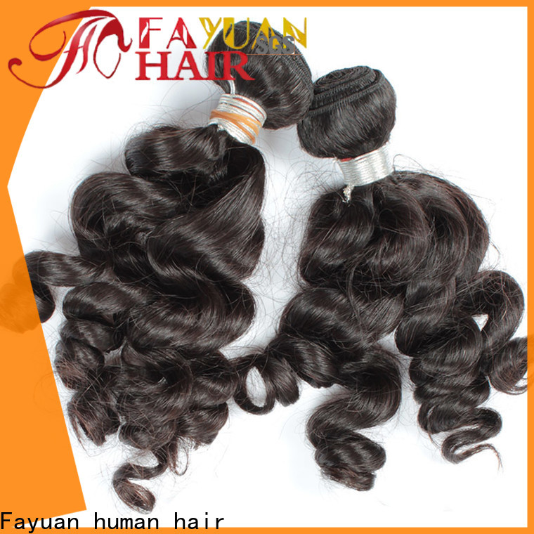 Fayuan Hair virgin cheap hair extensions for business for women
