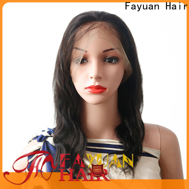 Fayuan Hair Top best lace wigs company for street