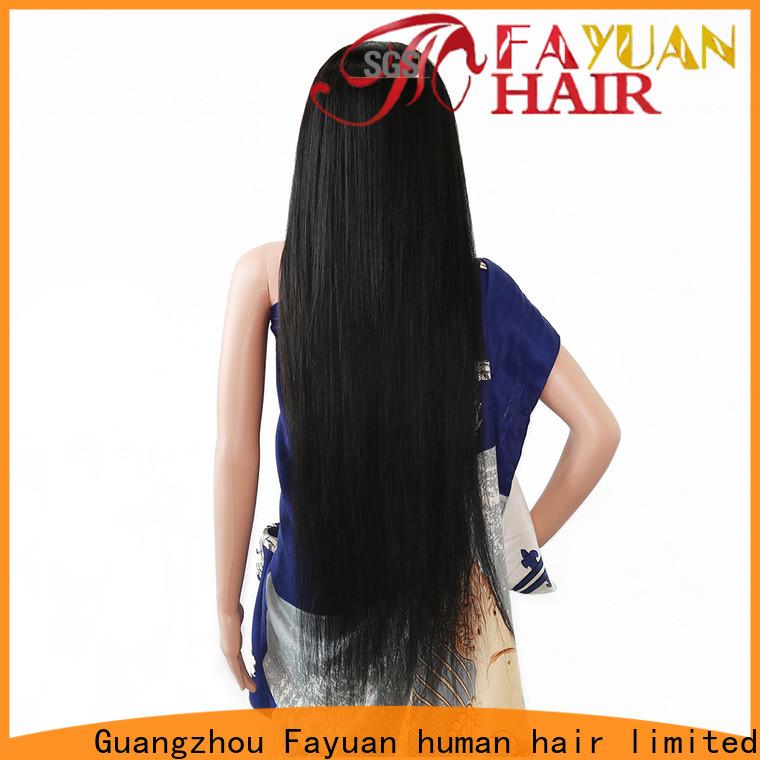 Fayuan Hair Latest custom human wigs company for barbershop