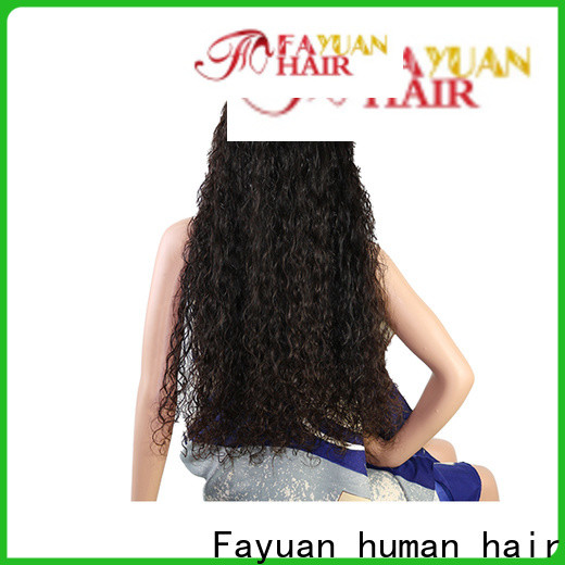 Fayuan Hair wig custom color full lace wigs for business for men