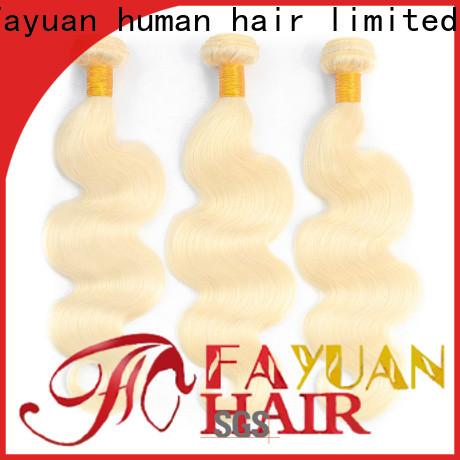 Fayuan Hair human brazilian hair wholesale cheap Suppliers for women