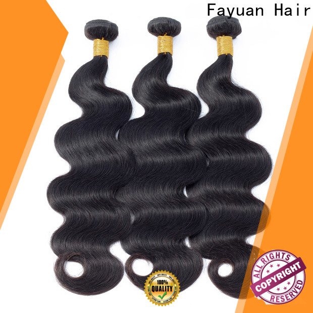 Fayuan Hair curly peruvian deep wave hair manufacturers for street