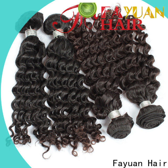New malaysian curly weave bundles curl factory for street
