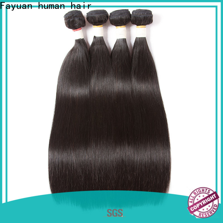 Fayuan Hair straight affordable virgin hair bundles Supply for selling
