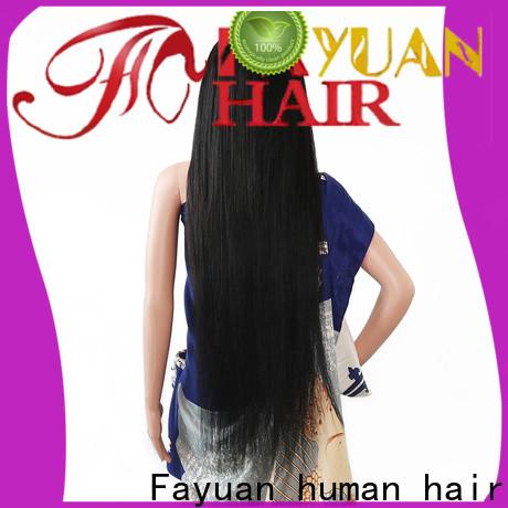 Fayuan Hair lace custom made wig caps company for barbershop