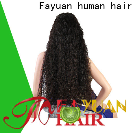 Fayuan Hair lace custom made lace front wigs factory for selling