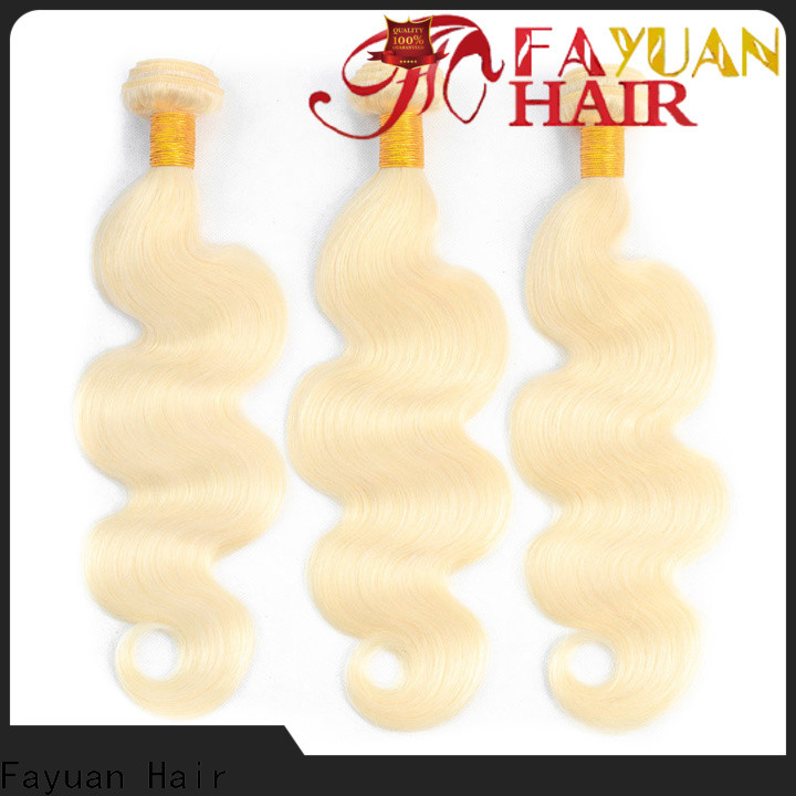 Fayuan Hair High-quality brazilian hair wholesale cheap for business for selling