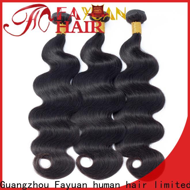 Fayuan Hair Custom peruvian hair factory for men