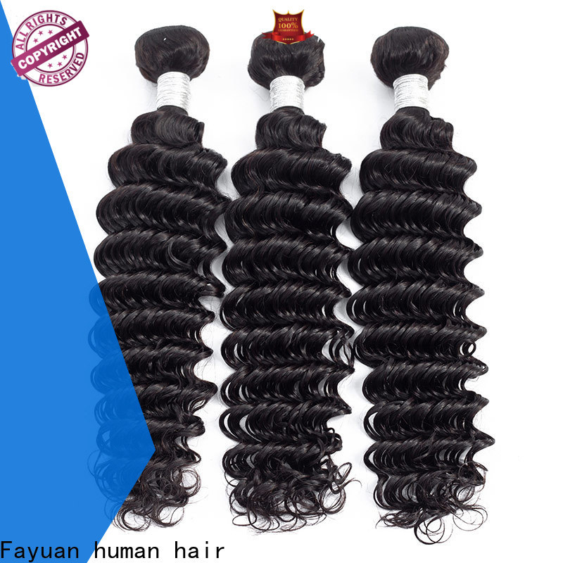 Fayuan Hair curly hair bundles company for selling