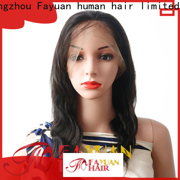 Fayuan Hair brazilian good lace wigs Supply for selling