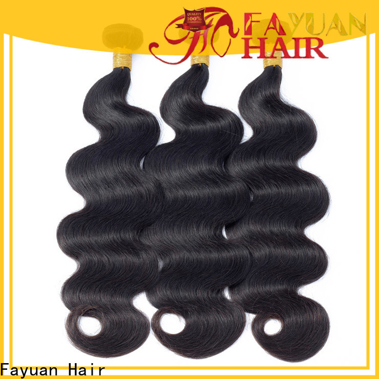 Fayuan Hair Best peruvian virgin hair bundles for business for street