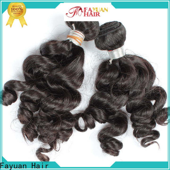Fayuan Hair virgin indian hair vendors Supply for men