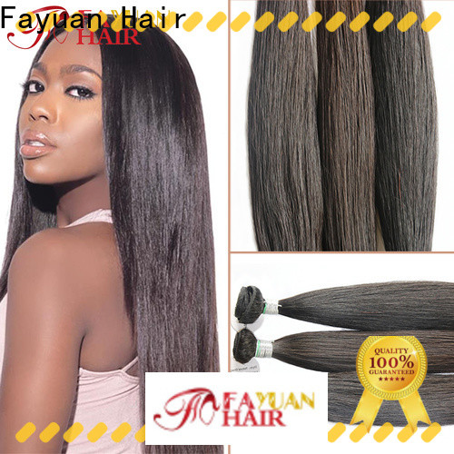 Fayuan Hair virgin best full lace wig companies Suppliers for men