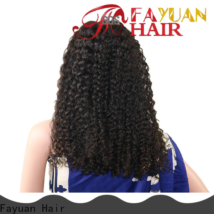 Fayuan Hair curly order lace front wigs online Suppliers for selling