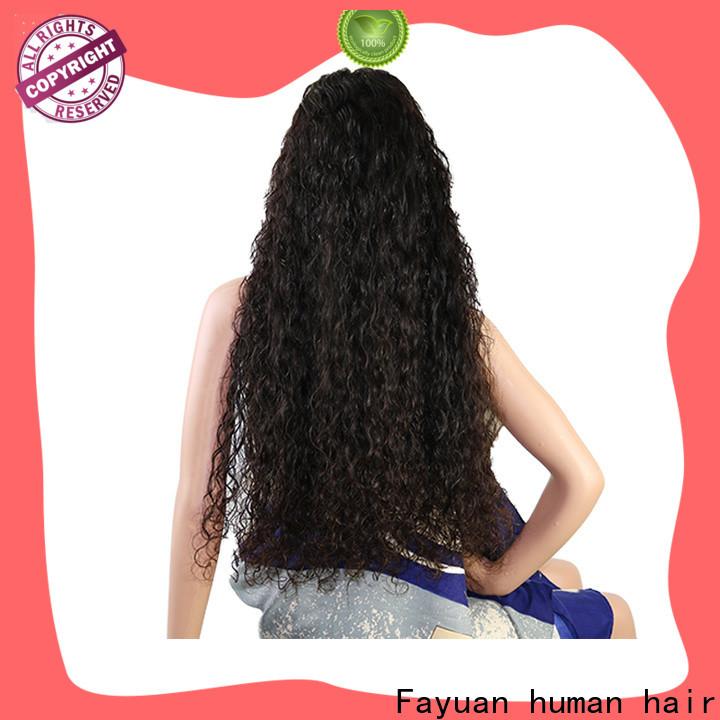 Fayuan Hair High-quality custom wigs online Supply for barbershop