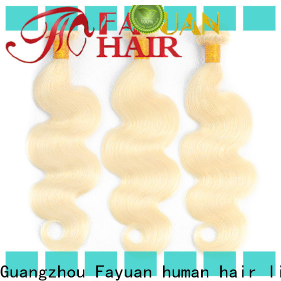 Fayuan Hair straight best human hair weave manufacturers for men
