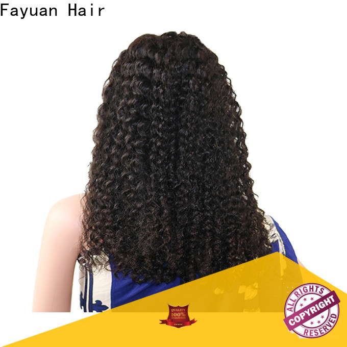 Custom cheap human hair lace front wigs wig factory for selling