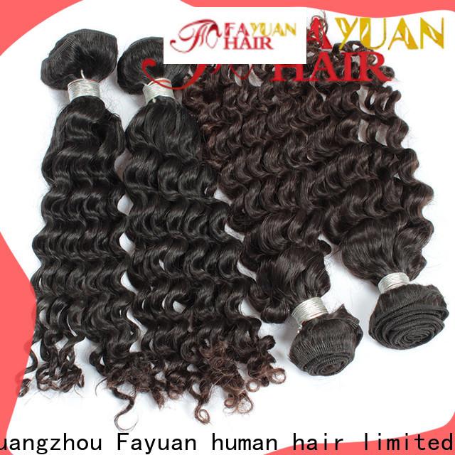 Fayuan Hair New cheap malaysian hair Supply for barbershopp