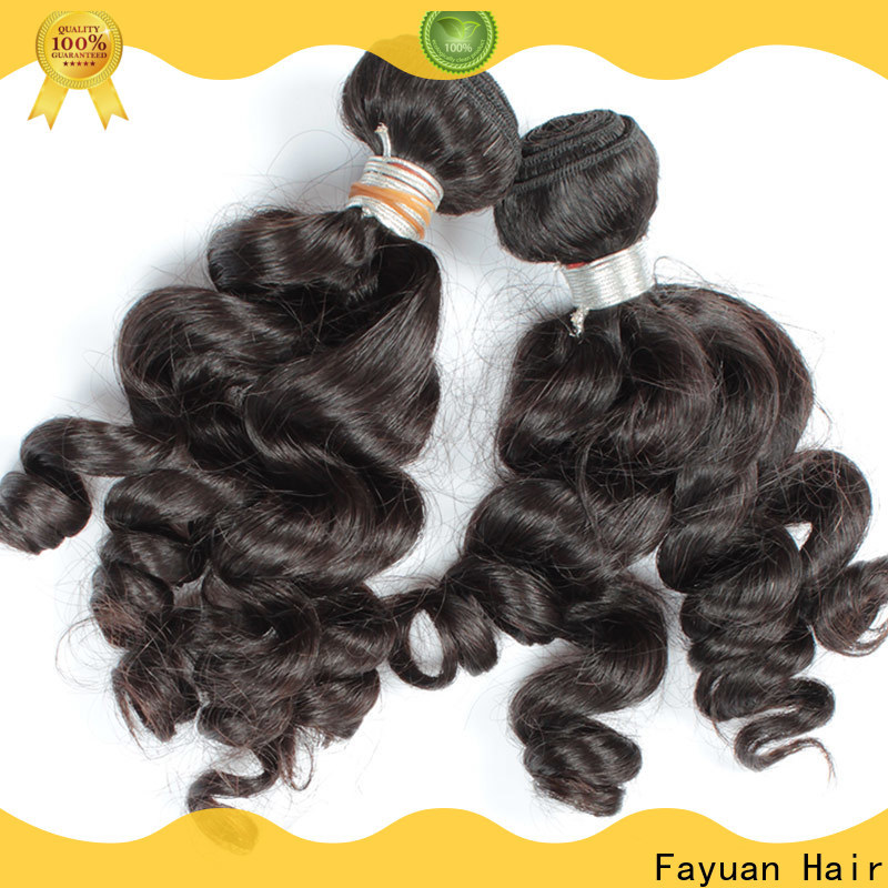 Fayuan Hair grade real indian hair factory for street