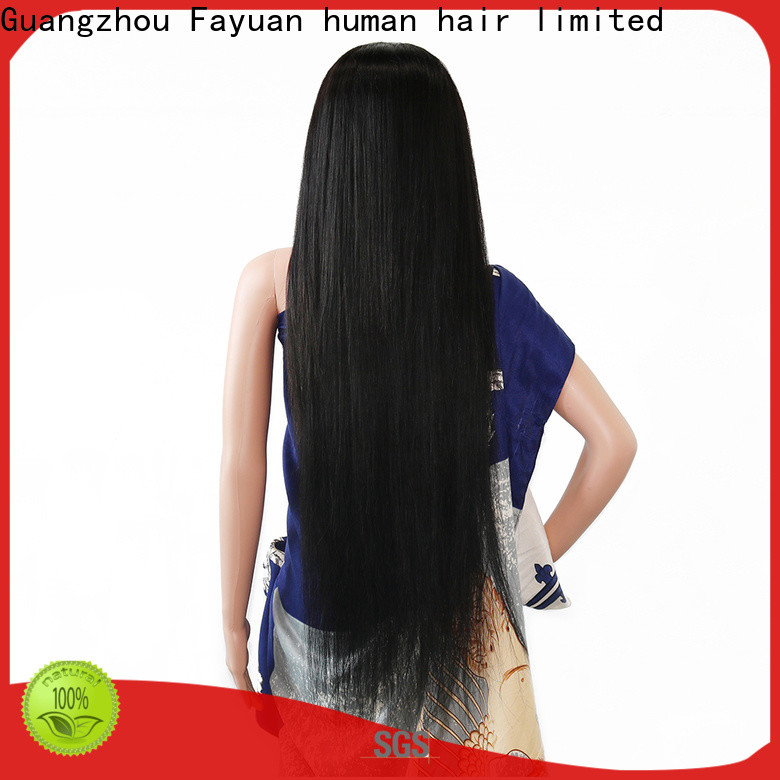 Fayuan Hair straight custom made lace frontals company for women
