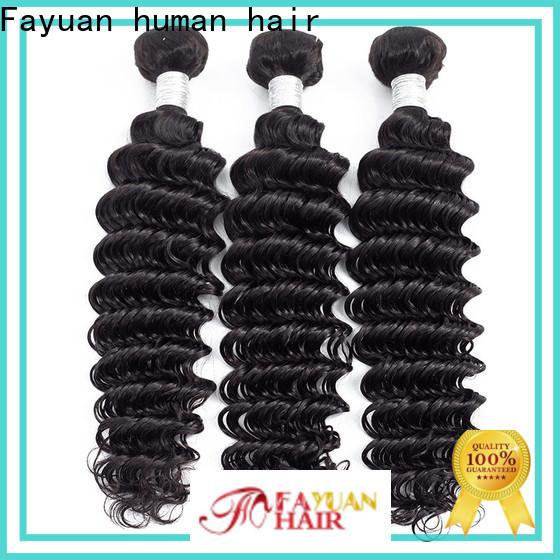 Fayuan Hair hair black hair extensions Supply for women