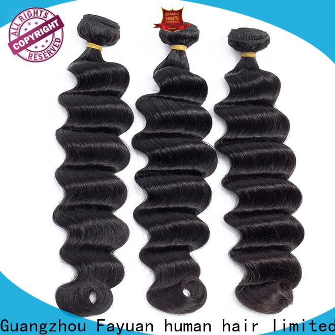Fayuan Hair Best indian hair weave for cheap factory for women