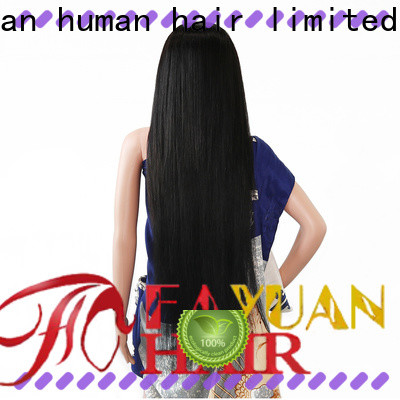 Fayuan Hair frontal custom wig makers Supply for barbershop