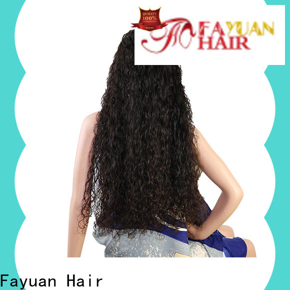 Fayuan Hair High-quality custom full lace wigs factory for street