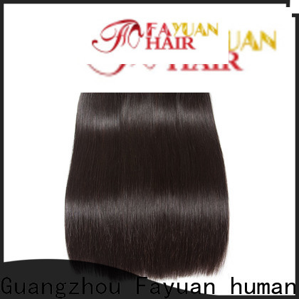 Fayuan Hair grade cheap brazilian human hair bundles Suppliers for street
