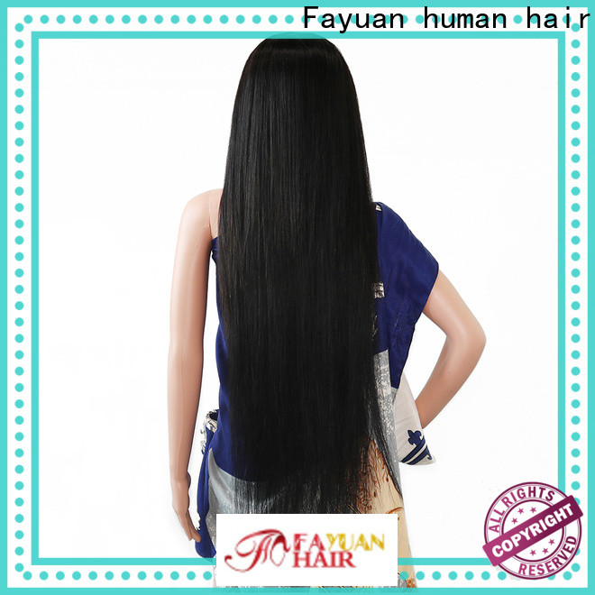 Fayuan Hair wave custom lace wigs for sale manufacturers for selling
